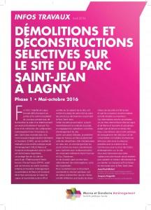 Info travaux 01 - Démolitions - page1